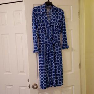 Donna Morgan wrap dress, size 4.